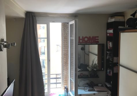 Studio 13,5m2 rue de Javel Paris 15