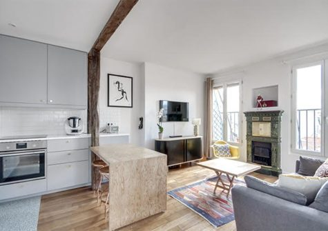 48m2 avenue de la République Paris 11
