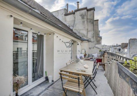 62m2 + 14m2 terrasse rue de Poitou Paris 3