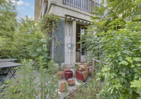 67m2 + 115m2 de jardin rue du Bois de Boulogne Neuilly Saint-James