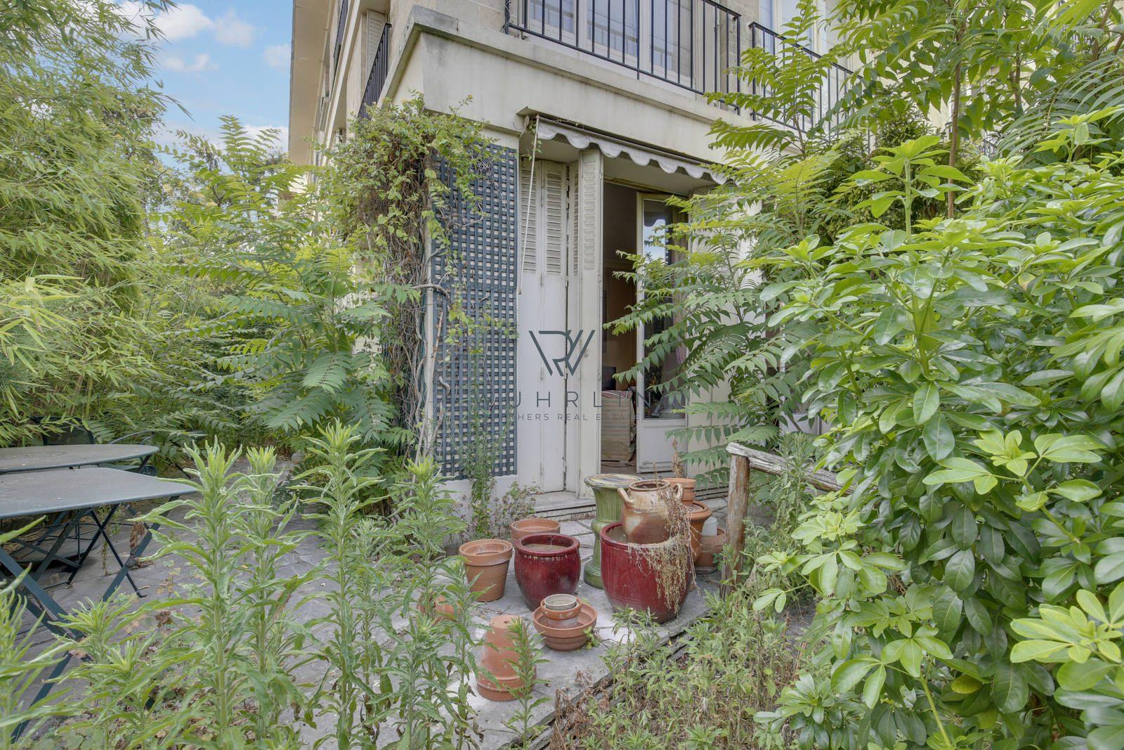 67m2 + 115m2 de jardin rue du Bois de Boulogne Neuilly Saint ...