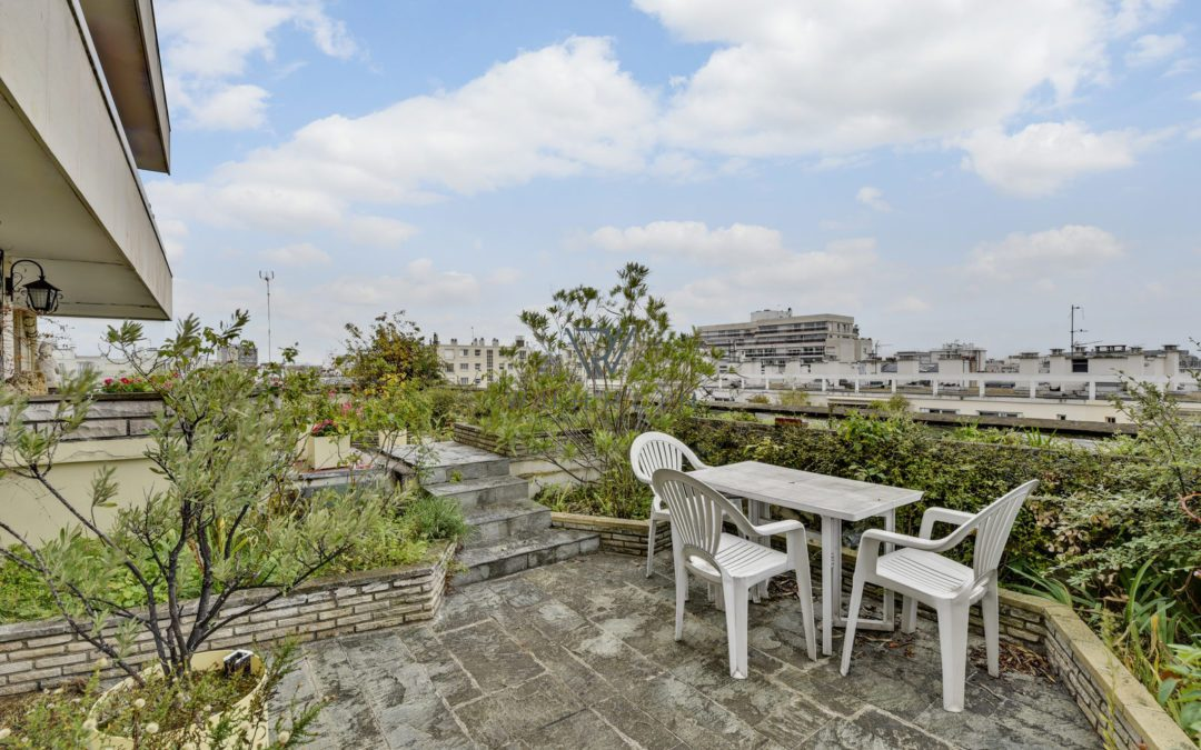 100m2 + 98m2 terrasse + balcons rue Noyer Paris 14