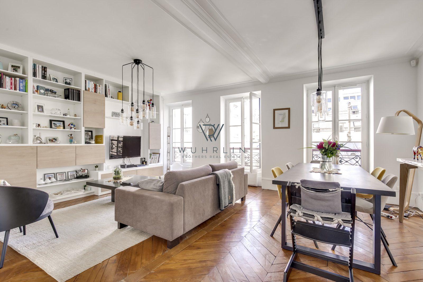 71m2 rue Legendre / Batignolles + parking Paris 17