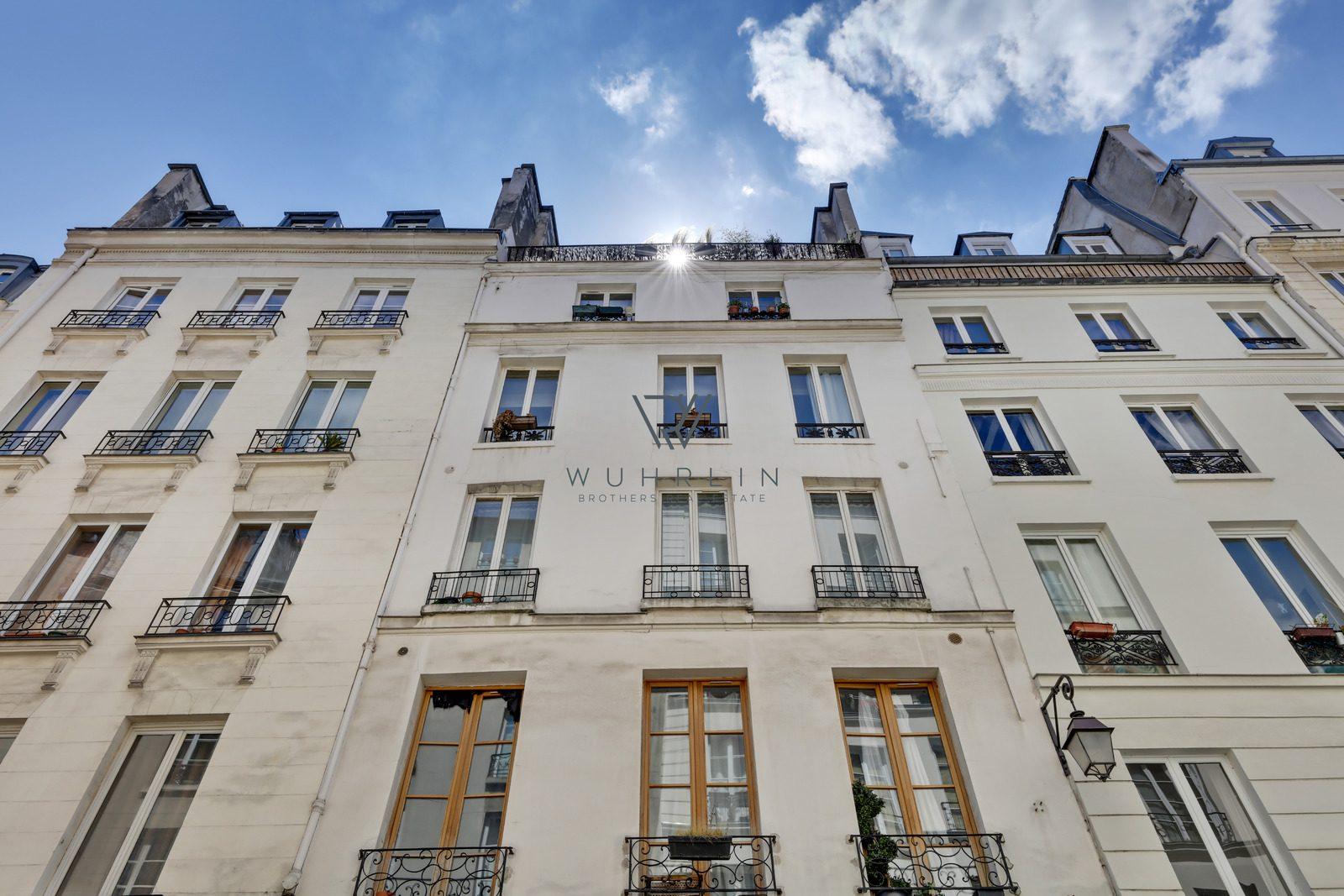 43m2 rue de Poitou Paris 3