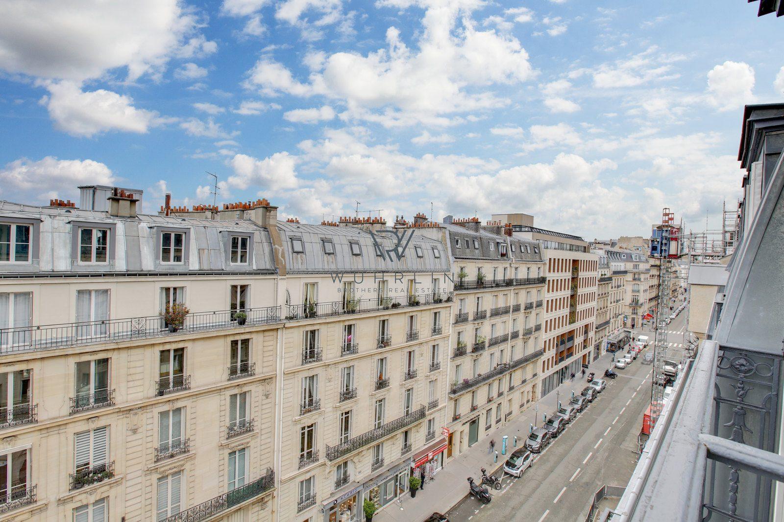166m2 rue Jouffroy d'Abbans Paris 17