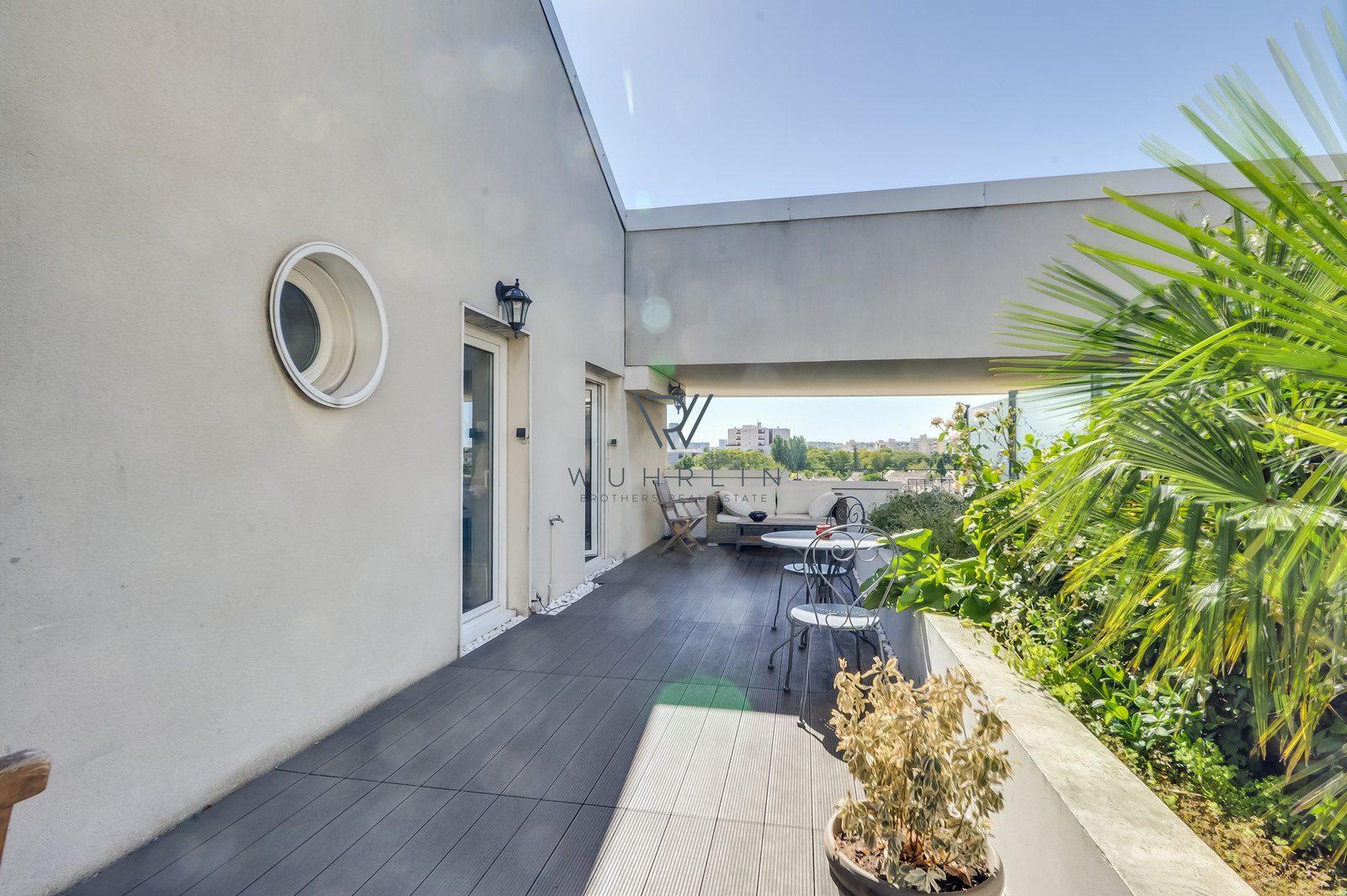 79m2 avec terrasse 40m2 rue Pierre de Ronsard Deuil-la-Barre
