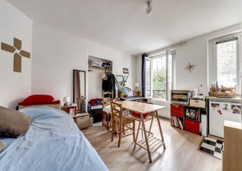 Studio 16m2 boulevard de Grenelle Paris 15